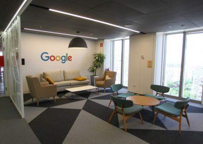 Oficinas Google Grupo Geon Mas Geon Facility Constructora Corporativo